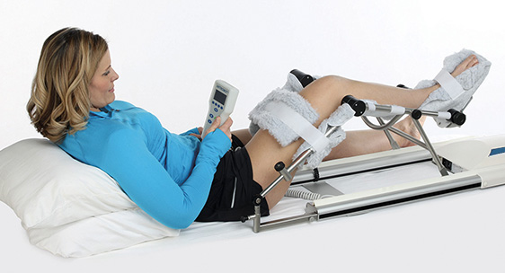 Lytle equipment for the knee, Mover. Increases your range of motion.